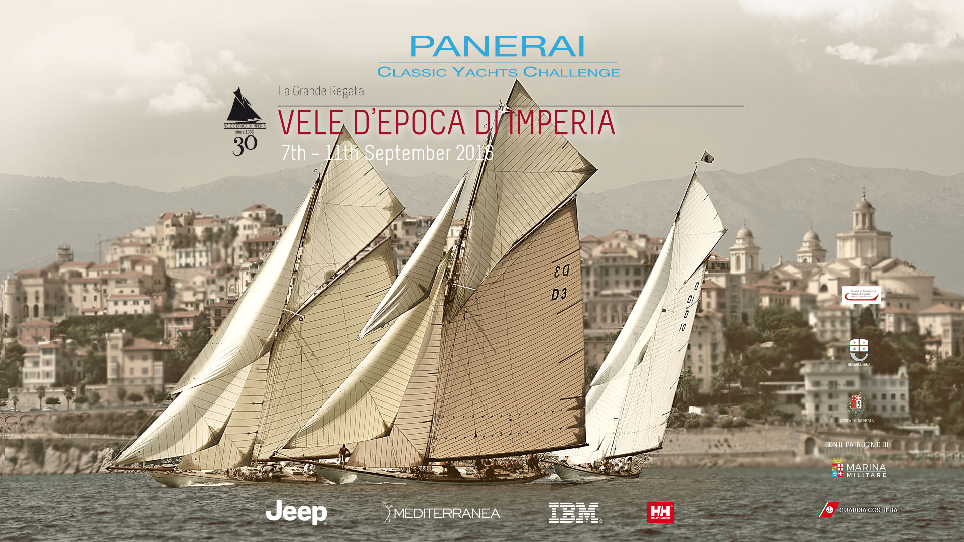 Partita la prima regata del Raduno di Vele d'Epoca 2016 – Panerai Classic Yachts Challenge