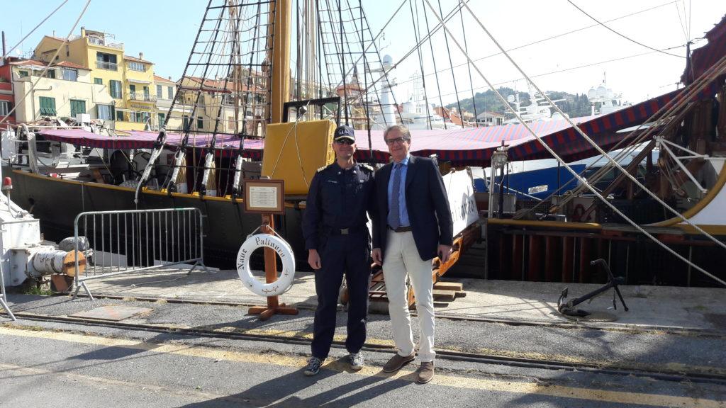 Il C.F. Gabriele Belfiore e Lucio Carli